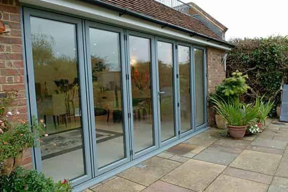 aluminium bi-fold doors hastings