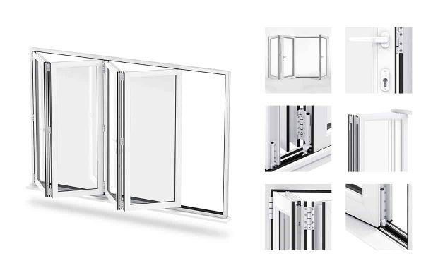 uPVC Bi-Folding Door Prices